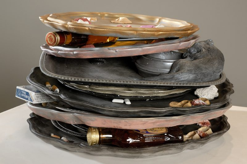 29. Stack of Trays